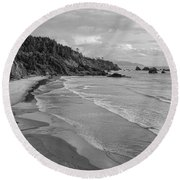 Rugged Beauty Round Beach Towel