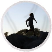 Runner Round Beach Towel