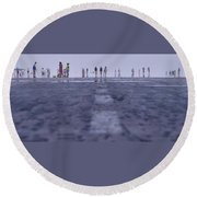 Runway Round Beach Towel