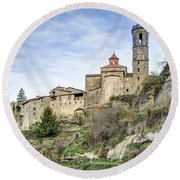Rupit I Pruit In Catalonia Round Beach Towel