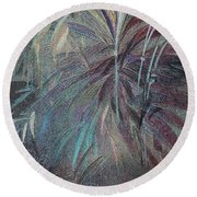 Rush Round Beach Towel by Writermore Arts