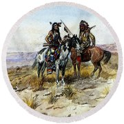 Russell Charles Marion On The Prowl Round Beach Towel