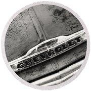 Rustic Chevrolet Round Beach Towel