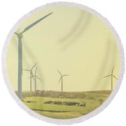 Rustic Renewables Round Beach Towel by Jorgo Photography - Wall Art Gallery
