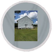 Rutledge Primitive Baptist Church Round Beach Towel