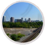 RVA Round Beach Towel