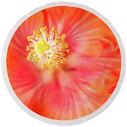 Sacred Song Round Beach Towel