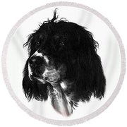 Sadie Round Beach Towel