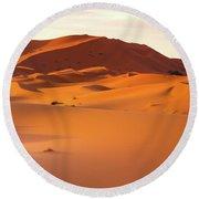 Sahara Dessert - Morocco Round Beach Towel
