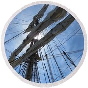 Sail Bristol Round Beach Towel
