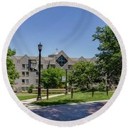 Saint Augustine Center For The Liberal Arts Round Beach Towel