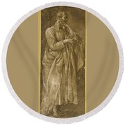 Saint Paul  Round Beach Towel