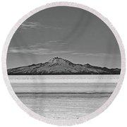 Salar De Uyuni No. 222-2 Round Beach Towel