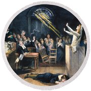 Salem Witch Trial, 1692 Round Beach Towel