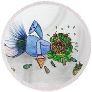 Sales Fairy Dancer 9 Round Beach Towel