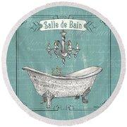 Salle De Bain Round Beach Towel