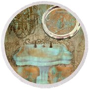 Salle de bain ii painting by mindy sommers for Salle de bain towels