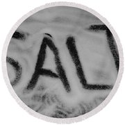 Salt Round Beach Towel