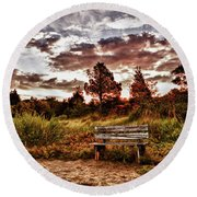 Saltmarsh Set A Spell Round Beach Towel