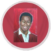 Sam Cooke Round Beach Towel