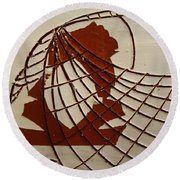 Samantha - Tile Round Beach Towel