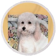 Sammy Round Beach Towel