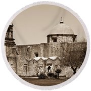 San Antonio Round Beach Towel