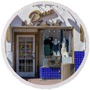 Small Business Dream Round Beach Towel