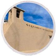 San Francisco De Assisi Church Round Beach Towel
