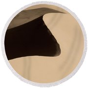 Sand Round Beach Towel