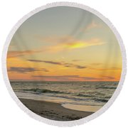 Sand Key Sunset II Round Beach Towel