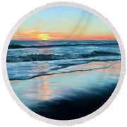 Sand Reflections Round Beach Towel