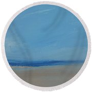 Sandflats Round Beach Towel