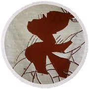 Sandra - Tile Round Beach Towel