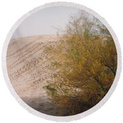 Sands Of Monahans Round Beach Towel