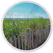 Sands Of The Dune Round Beach Towel