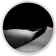 Sands Of Time Round Beach Towel