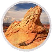 Sandstone Gopher Round Beach Towel