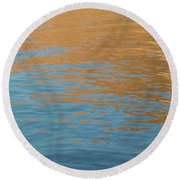 Sandstone Reflections Round Beach Towel