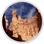Sandstone Sculpture Round Beach Towel