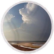 Sandy Neck Beach Round Beach Towel