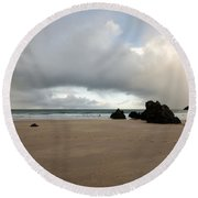 Sango Beach, Durness Round Beach Towel