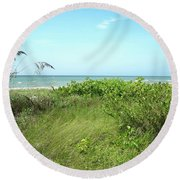 Sanibel Island Round Beach Towel