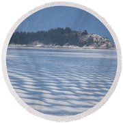 Sanjuan Islands Round Beach Towel