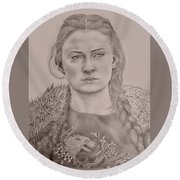 Sansa Stark Round Beach Towel