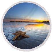 Santa Cruz Starfish Round Beach Towel