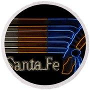 Santa Fe Indian Round Beach Towel