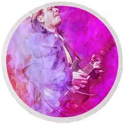 Santana Round Beach Towel