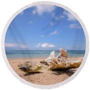 Sanur Beach - Bali Round Beach Towel
