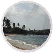 Sapphire Palms Round Beach Towel